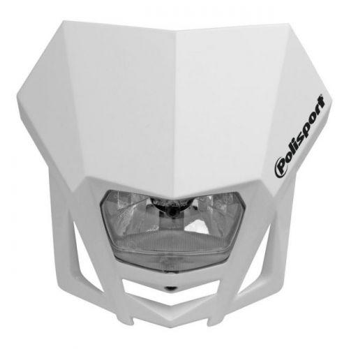 Valkoinen Polisport LMX maski