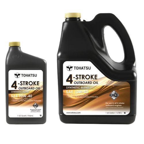 Tohatsu 4-tahti perämoottoriöljy 10W-30 5 litraa