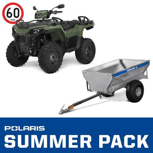 2021 Polaris Sportsman 570 4x4 T3b SUMMER PACK vihreä