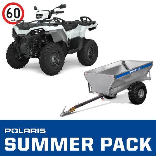 2021 Polaris Sportsman 570 4x4 T3b SUMMER PACK valkoinen
