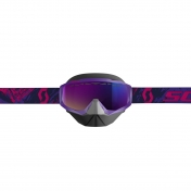 SCOTT HUSTLE SNOW CROSS PURPLE/PINK/TEAL CHROME