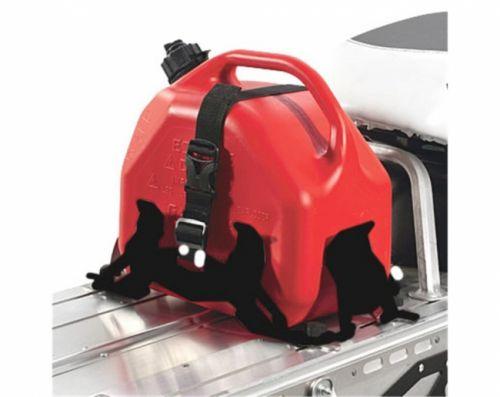 Polaris Lock & Ride polttoainesäiliön teline, musta