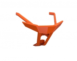 AXYS Elite Pro etupuskuri, oranssi
