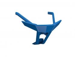 Axys Elite Pro etupuskuri, sininen