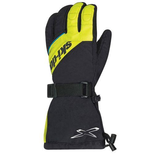 Ski-Doo X-Team nailonhanskat moottorikelkkailuun sunburst yellow