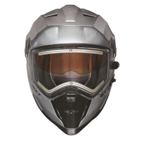EX-2 Enduro-kypärä,hopea