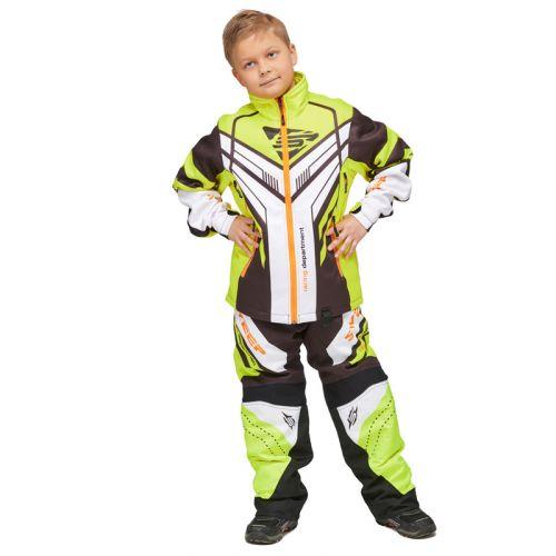 Lasten kelkkahousut Sweep Racing Division 2.0 mu/valk/kelt/oran
