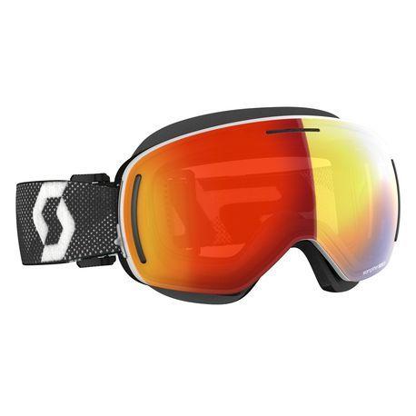 Scott Goggle LCG Evo kelkkalasit white/black enhancer red chrome
