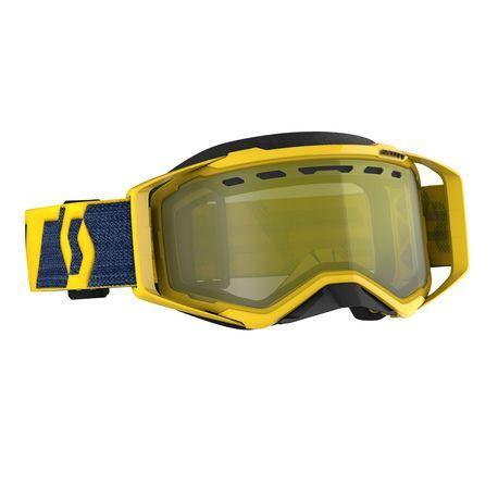 Scott Goggle Prospect Snow Cross yellow/yellow enhancer yellow chrome