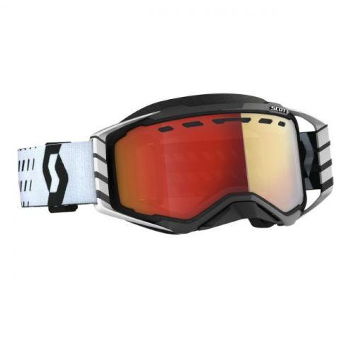Scott ajolasit Prospect Snow Cross black/white light sensitive red chrome