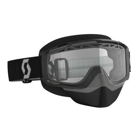 Scott Goggle Split OTG kelkkalasit  black/grey clear
