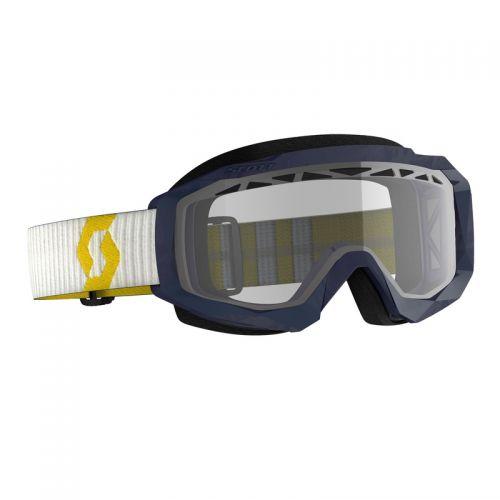 ScottHustle X MX Enduro yellow/blue, clear
