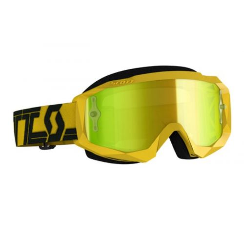 Scott Hustle X MX yellow/black, yellow chrome works