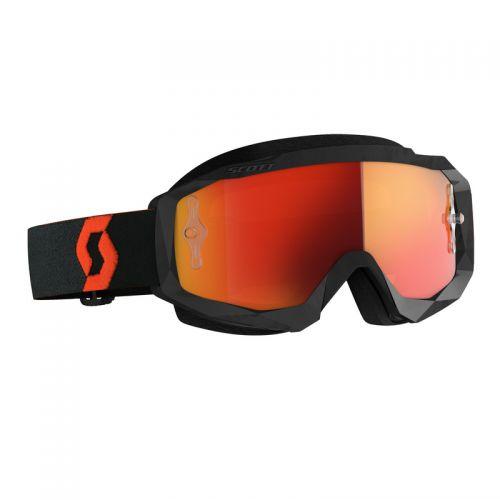 Scott Hustle X MX orange/black, orange chrome works