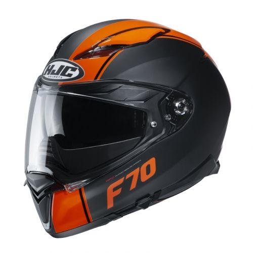 HJC Kypärä F70 Mago Black/Orange