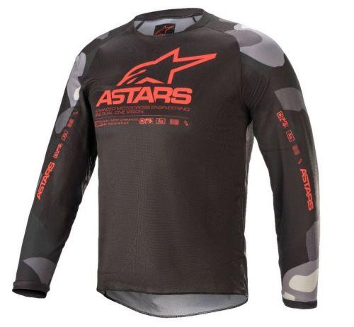 Alpinestars ajopaita Racer Tactical, junior, red camo