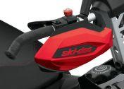 Käsisuojat Ski-Doo punainen REV-XP