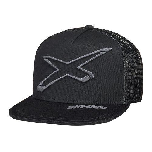 Ski-Doo X-Flat lippalakki musta