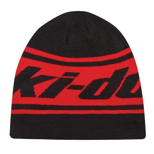 Ski-Doo käännettävä pipo unisex punainen/musta