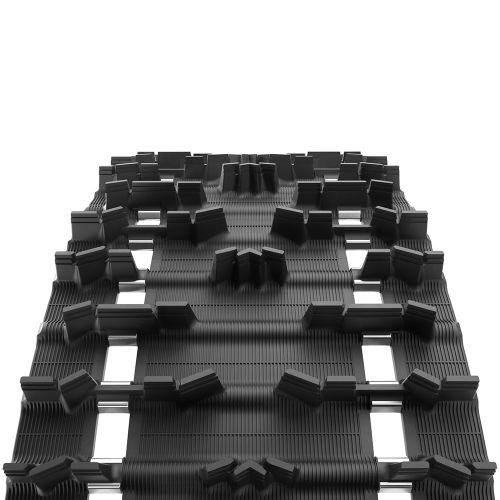 Telamatto 38x365 cm - harja 38 mm - Crossover