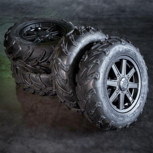 """Polaris mönkijän rengassarja 14"""" alumiinivanteilla CST"""