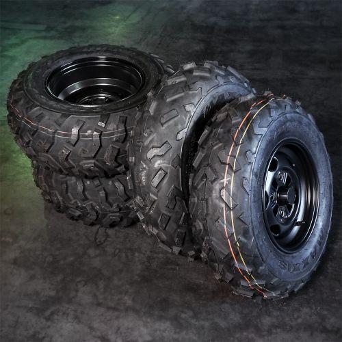 """Honda mönkijän rengassarja 12"""" peltivanteilla MAXXIS M975"""