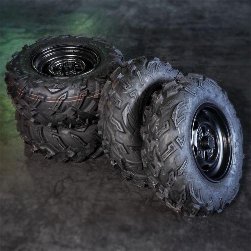 """Honda mönkijän rengassarja 12"""" peltivanteilla MAXXIS MU25"""