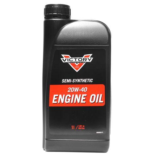 Victory 20W-40 osasynteettinen moottoriöljy