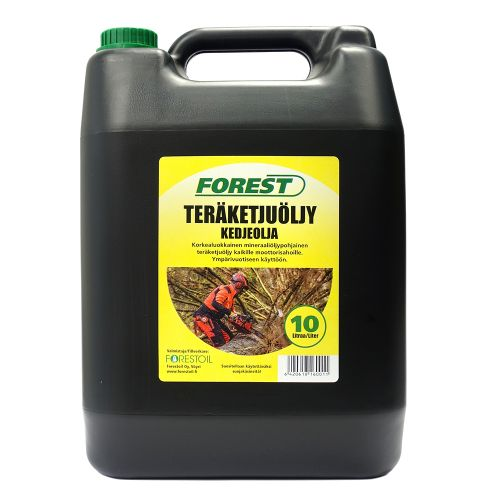 Teräketjuöljy 5 litraa Forest Oil