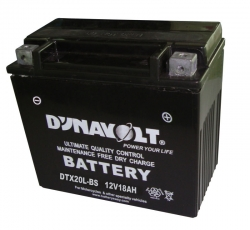 DYNAVOLT BATTERY YTX20L-BS