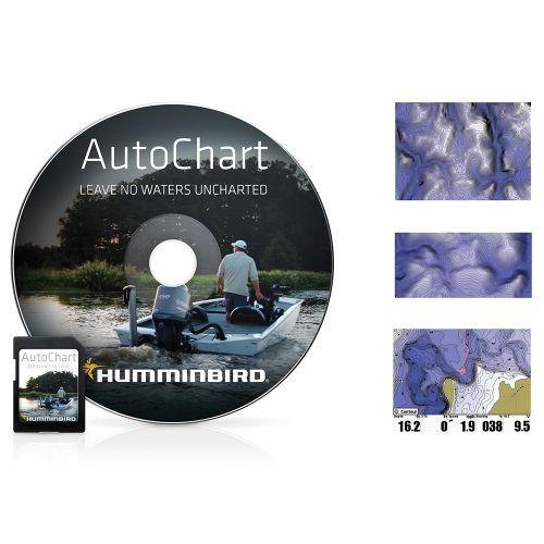 SD-lisäkortti Humminbird AutoChart ZeroLine