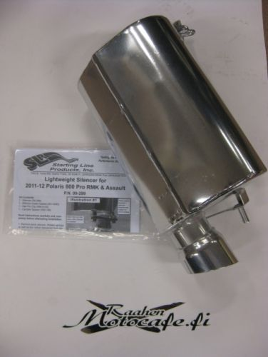 Lightweight Silencer for Polaris, 2011-12 800 RMK Assault, Switchback Assault, 800 RMK 09-299