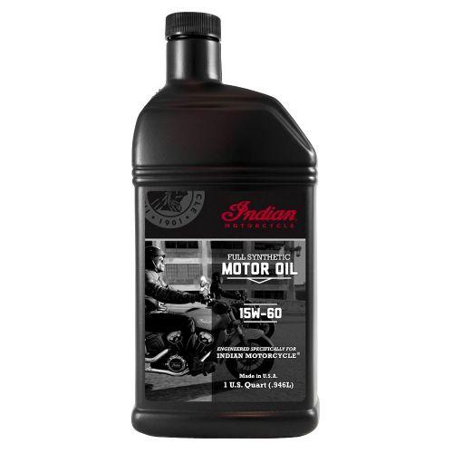 Indian 15W-60 synteettinen moottoriöljy 1 litra