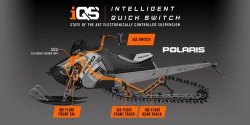 Fox ski/track shocks Float 3 IQS Polaris react 155-163