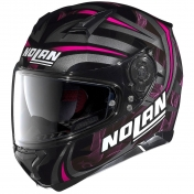 Nolan N87 Ledlight (31) musta/pinkki