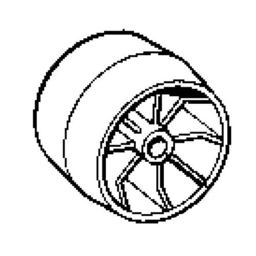 1134-2405-01 Stiga leikkuulaitteen pyörä