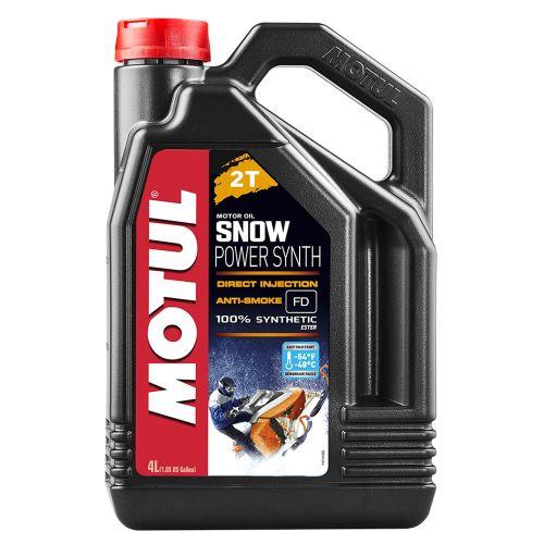 Motul SnowPower Synth 2-tahti kelkkaöljy 4 litraa