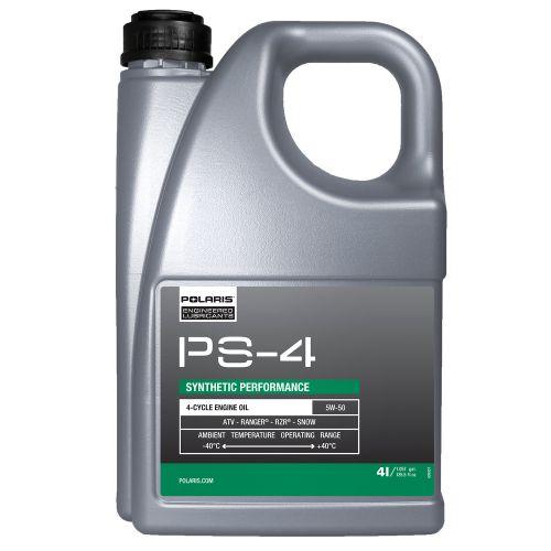 Polaris PS-4 5W-50 synteettinen moottoriöljy 4 litraa