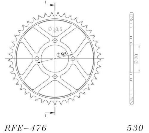 JT- Takahammasratas R476-40