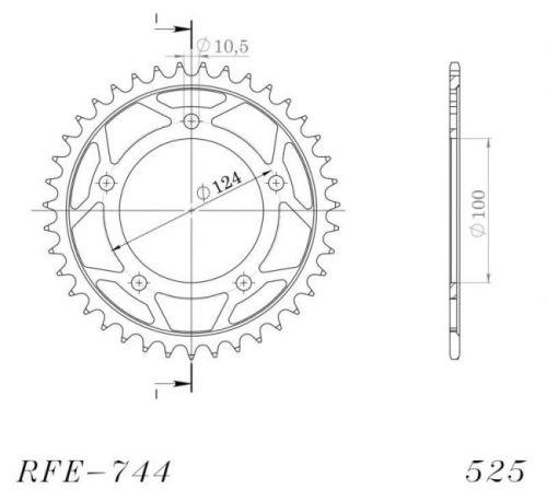 JT- Takahammasratas R744-36