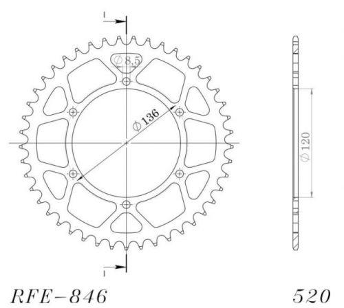 JT- Takahammasratas R846-41