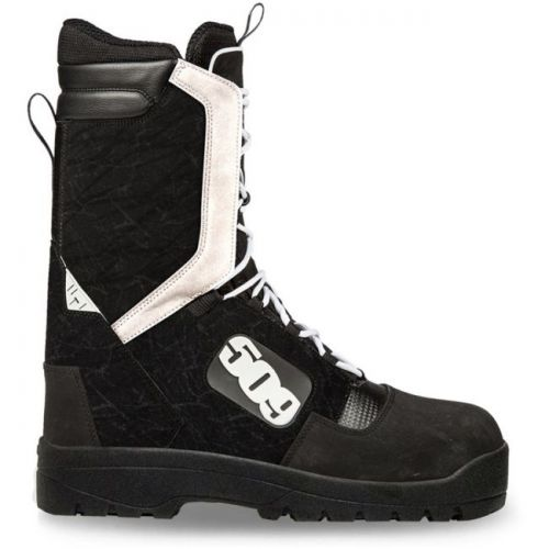 Raid Laced Boot - Black/White
