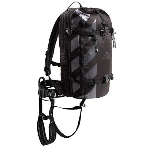 S.CAPE Lumivyöryreppu Compact Base Unit + ZipOn, Storm Black