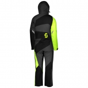 SCOTT DP KID´S MONOSUIT BLACK/NEON YELLOW