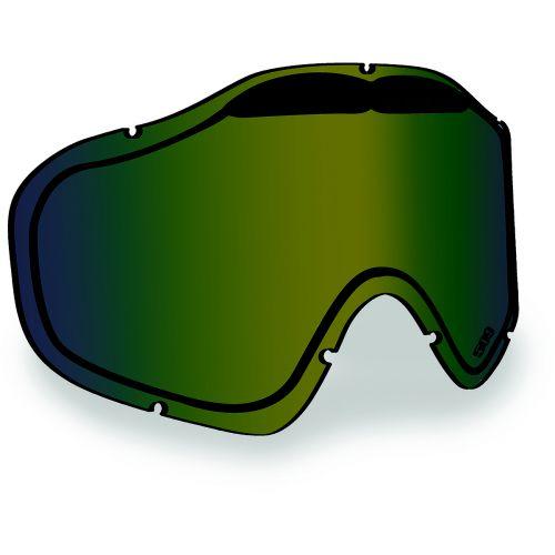 Linssi 509 Sinister X5 kelkkalaseihin, Green mirror/Bronze tint