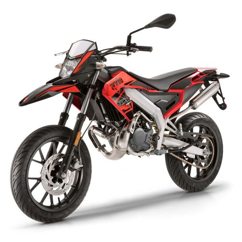 Aprilia SX 50 Red Acceleration