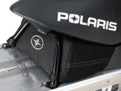 Polaris takalaukku penkin alle