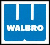D10-HD kalvosarja WALBRO