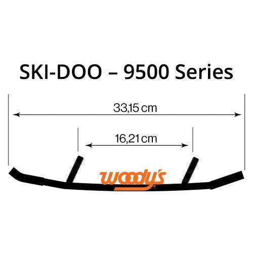 Ohjainrautapari Woody's WSD-9500 Ski-Doo